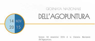 Giornata nazionale agopuntura – 14 novembre 2015