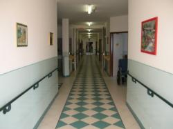 Casa di riposo La Baraggia a Candelo (BI) corridoi