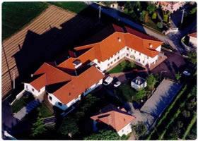 Casa di riposo La Baraggia a Candelo (BI) vista aerea