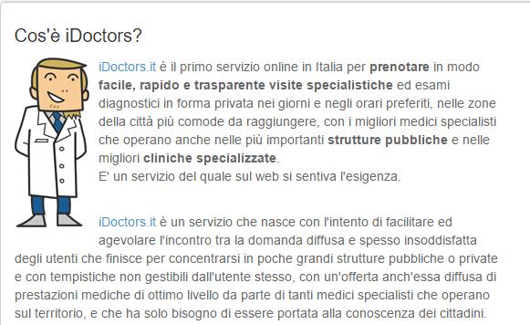 Prenotazione visite mediche geriatriche e agopuntura – iDoctors
